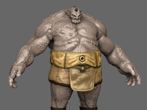 Ogre Rig UDK Animations